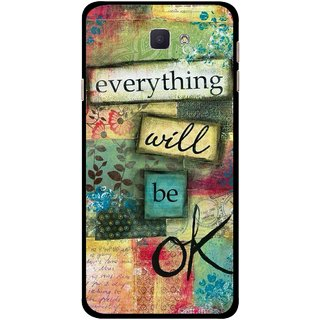 Snooky Printed Will Ok Mobile Back Cover For Samsung Galaxy J7 Prime - Multicolour