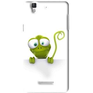 Snooky Printed Seeking Alien Mobile Back Cover For Micromax YU YUREKA - Multi