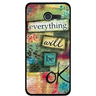 Snooky Printed Will Ok Mobile Back Cover For Asus Zenfone 4 - Multicolour