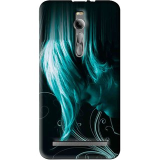 Snooky Printed Mistery Boy Mobile Back Cover For Asus Zenfone 2 - Multi