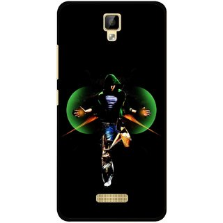 Snooky Printed Hero Mobile Back Cover For Gionee P7 - Multicolour