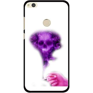 Snooky Printed Danger Mobile Back Cover For Huawei Honor 8 Lite - Multi