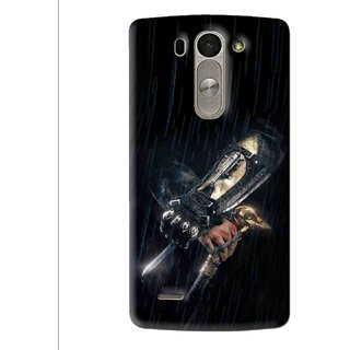 Snooky Printed The Thor Mobile Back Cover For Lg G3 Beat D722k - Multi