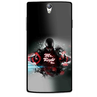 Snooky Printed Mr.Right Mobile Back Cover For Oppo Find 5 Mini - Multicolour