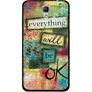 Snooky Printed Will Ok Mobile Back Cover For Samsung Galaxy Mega 2 - Multicolour
