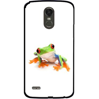 Snooky Printed Frog Mobile Back Cover For Lg Stylus 3 - Multi