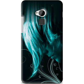 Snooky Printed Mistery Boy Mobile Back Cover For HTC One Max - Multi