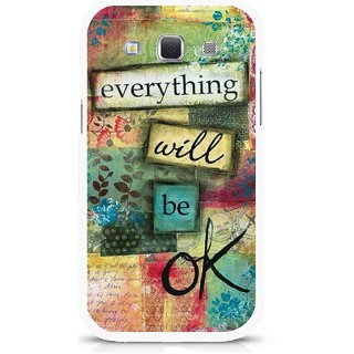 Snooky Printed Will Ok Mobile Back Cover For Samsung Galaxy 8552 - Multicolour