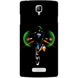 Snooky Printed Hero Mobile Back Cover For Oppo Neo 3 R831k - Multicolour