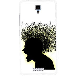 Snooky Printed Music Fond Mobile Back Cover For Gionee Pioneer P4 - Multicolour