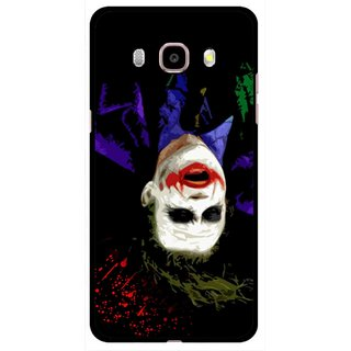 Snooky Printed Hanging Joker Mobile Back Cover For Samsung Galaxy J5 (2016) - Multicolour