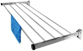 Wall Mounting Cloth Drying stand 6 pipes ( 3 feet )