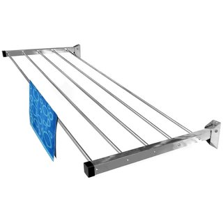 Wall Mounting Cloth Drying stand 6 pipes ( 4 feet )