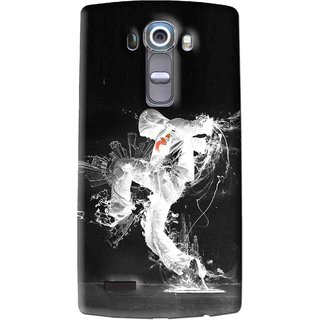 Snooky Printed Dance Mania Mobile Back Cover For Lg G4 - Multi