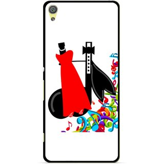 Snooky Printed Fashion Mobile Back Cover For Sony Xperia XA - Multicolour