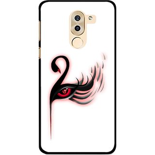 Snooky Printed Eye Art Mobile Back Cover For Huawei Honor 6X - Multi