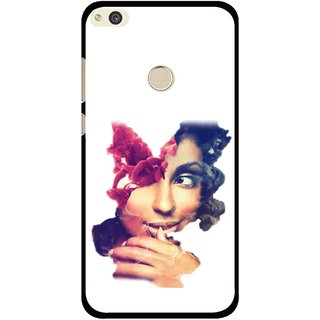 Snooky Printed Vintage Girl Mobile Back Cover For Huawei Honor 8 Lite - Multi