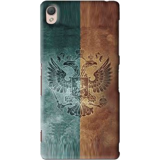 Snooky Printed Eagle Mobile Back Cover For Sony Xperia Z3 - Multi