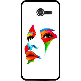 Snooky Printed Modern Girl Mobile Back Cover For Asus Zenfone 4 - Multicolour