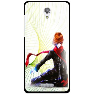 Snooky Printed Stylo Boy Mobile Back Cover For Gionee Marathon M4 - Multicolour