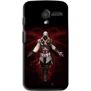 Snooky Printed thor Mobile Back Cover For Moto X - Multi