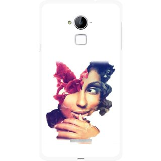 Snooky Printed Vintage Girl Mobile Back Cover For Coolpad Note 3 - Multi