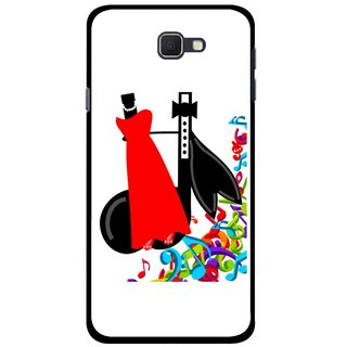 Snooky Printed Fashion Mobile Back Cover For Samsung Galaxy J5 Prime - Multicolour
