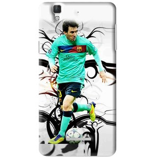 Snooky Printed Football Champion Mobile Back Cover For Micromax YU YUREKA - Multi