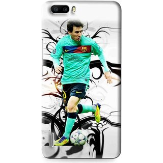 Snooky Printed Football Champion Mobile Back Cover For Huawei Honor 6 Plus - Multi