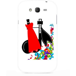 Snooky Printed Fashion Mobile Back Cover For Samsung Galaxy Grand I9082 - Multicolour