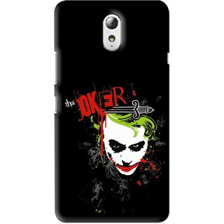 Snooky Printed The Joker Mobile Back Cover For Lenovo Vibe P1M - Multi