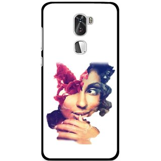 Snooky Printed Vintage Girl Mobile Back Cover For Coolpad Cool 1 - Multi