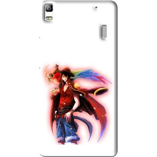 Snooky Printed Free Mind Mobile Back Cover For Lenovo A7000 - Multi