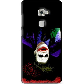 Snooky Printed Hanging Joker Mobile Back Cover For Huawei Mate S - Multi