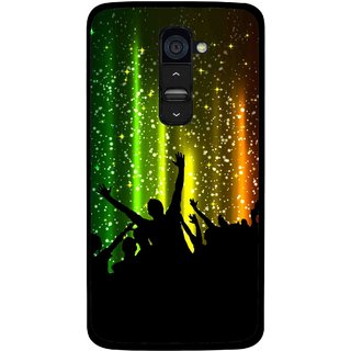 Snooky Printed Party Time Mobile Back Cover For Lg G2 - Multi