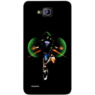 Snooky Printed Hero Mobile Back Cover For Huawei Honor 3C - Multicolour