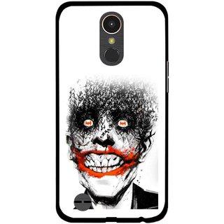 Snooky Printed Joker Mobile Back Cover For LG K10 2017 - Multi