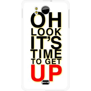 Snooky Printed Get Up Mobile Back Cover For Micromax Canvas DOODLE A111 - Multicolour