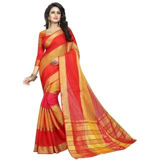 Sarees Trendz Designer Cotton Silk Woven Saree
