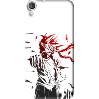 Snooky Printed Marshalat Mobile Back Cover For HTC Desire 820 - Multi