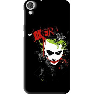 Snooky Printed The Joker Mobile Back Cover For HTC Desire 820 - Multi