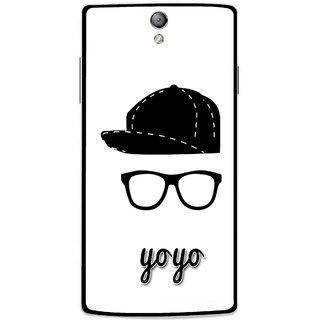 Snooky Printed Yo Yo Mobile Back Cover For Oppo Find 5 Mini - Multicolour