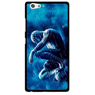 Snooky Printed Blue Hero Mobile Back Cover For Gionee Elife S6 - Multi