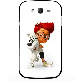Snooky Printed My Friend Mobile Back Cover For Samsung Galaxy Grand I9082 - Multicolour