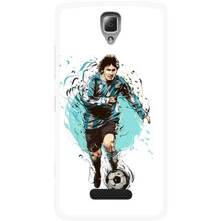 Snooky Printed Have To Win Mobile Back Cover For Lenovo A2010 - Multicolour