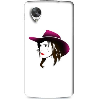 Snooky Printed Tom Boy Mobile Back Cover For Lg Google Nexus 5 - Multi