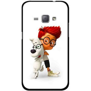 Snooky Printed My Friend Mobile Back Cover For Samsung Galaxy J1 - Multicolour
