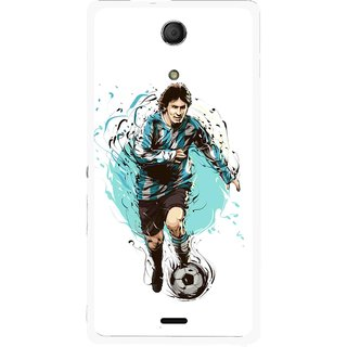 Snooky Printed Have To Win Mobile Back Cover For Sony Xperia ZR - Multicolour