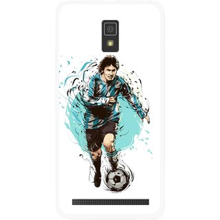 Snooky Printed Have To Win Mobile Back Cover For Lenovo A6600 - Multicolour