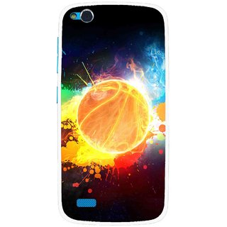 Snooky Printed Paint Globe Mobile Back Cover For Gionee Elife E3 - Multi